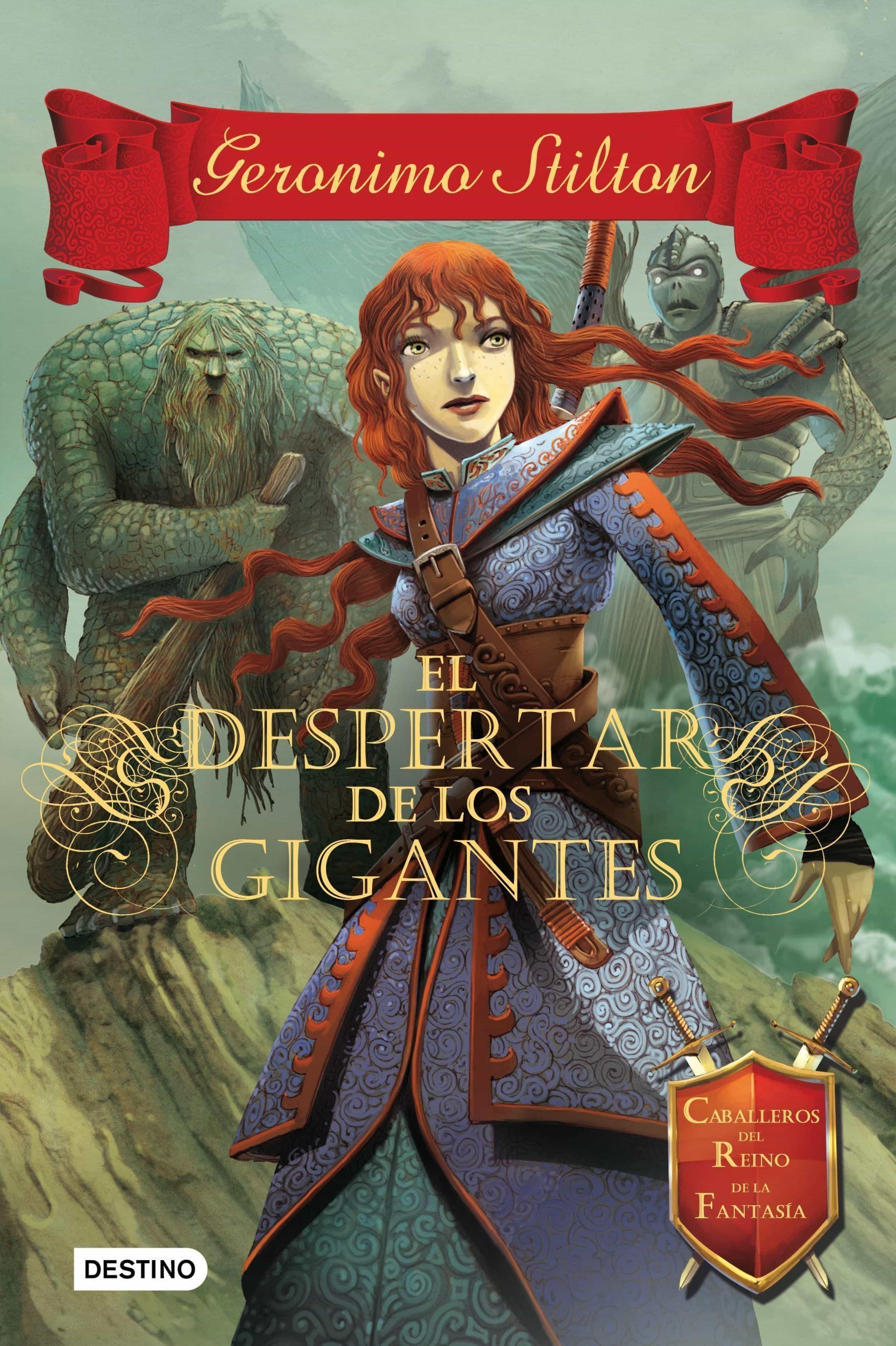 el despertar de los gigantes (ebook)-geronimo stilton-9788408132776