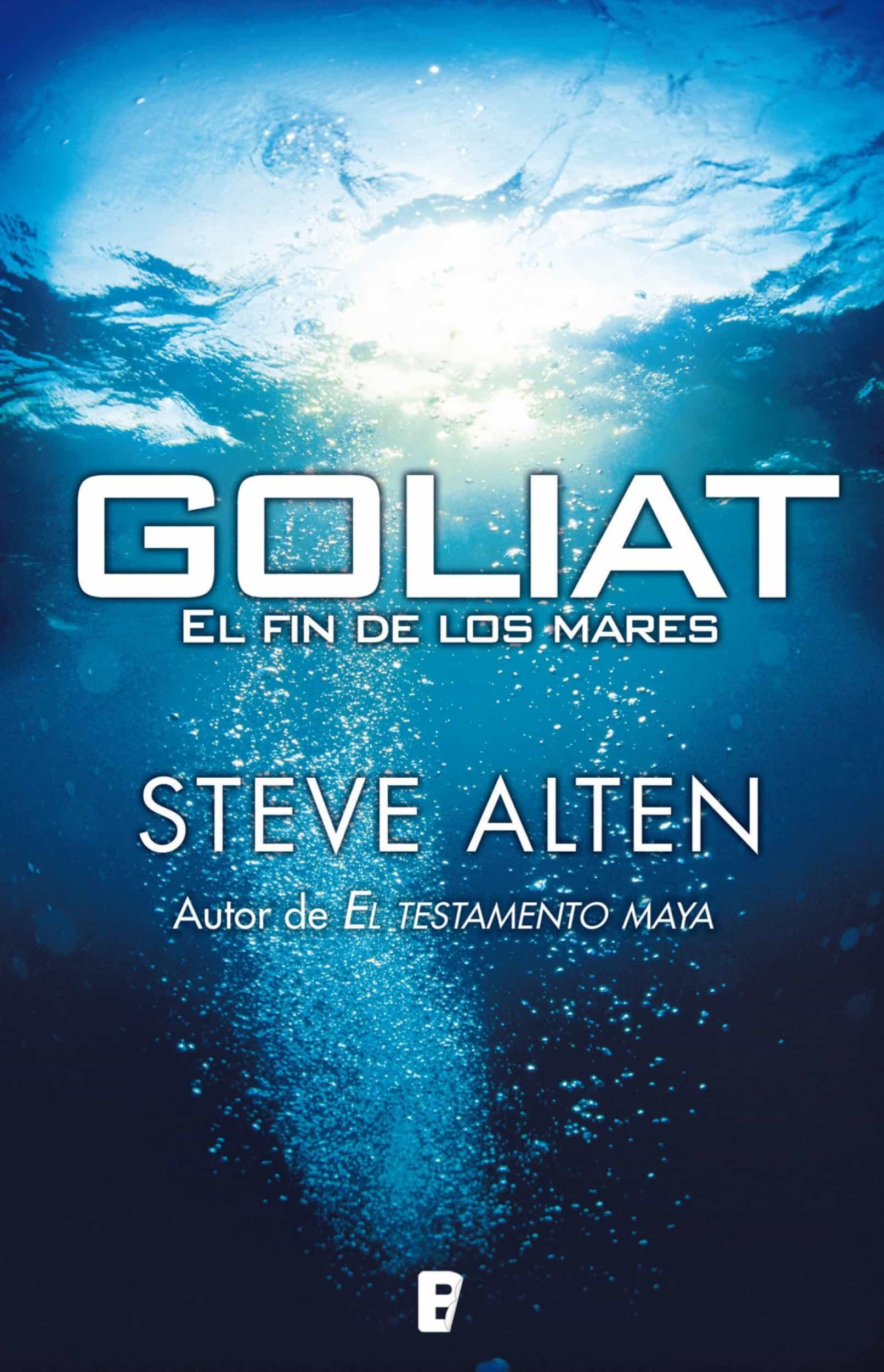 Goliat el fin de los mares ebook steve alten 9788415389576