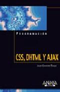 Css, Dhtml Y Ajax (programacion) por Jason Cranford Teague