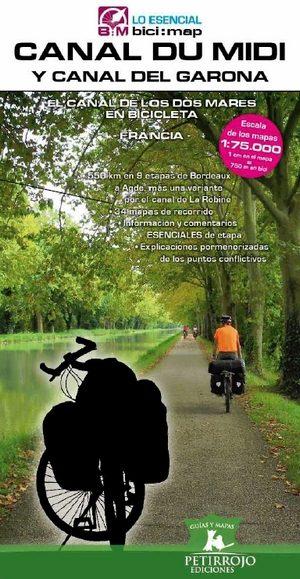 descargar CANAL DU MIDI Y CANAL DEL GARONA: EL CANAL DE LOS DOS MARES EN BICICLETA (FRANCIA) pdf, ebook