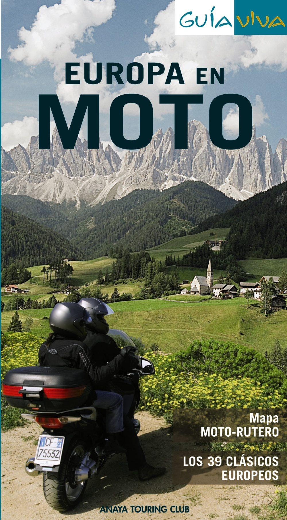 europa en moto (guia viva)-9788497768276