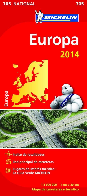 europa mapa nacional 2014 (ref. 11705)-9782067190986