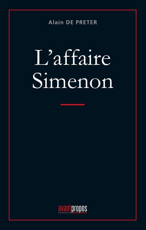 Descargar Gratis Ofs On Iphone L'affaire Simenon Ecomputer Descargar Gratis PDF