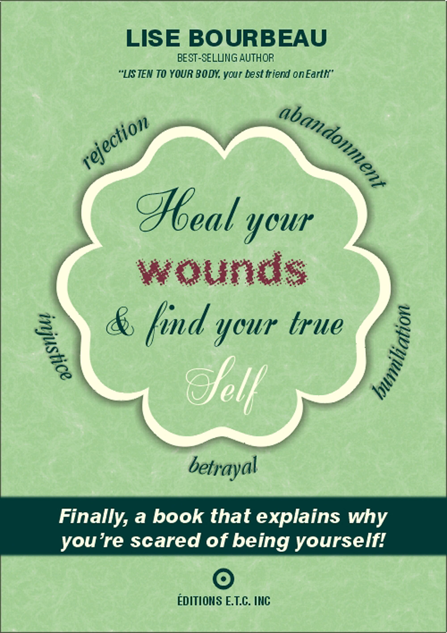 Heal your wounds find your true self ebook lise bourbeau heal your wounds find your true self ebook lise bourbeau 9782920932586 malvernweather Gallery