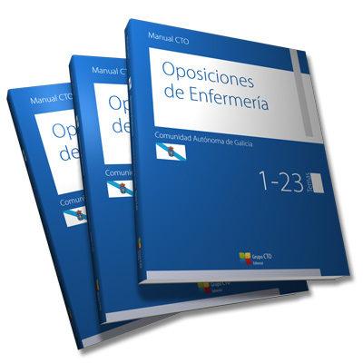 manual cto oposiciones de enfermería comunidad autónoma de galici a-9788415946786
