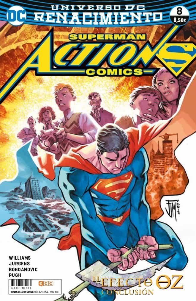 Superman: Action Comics Núm. 08 (renacimiento) por Dan Jurgens;                                                                                    Steve Pugh