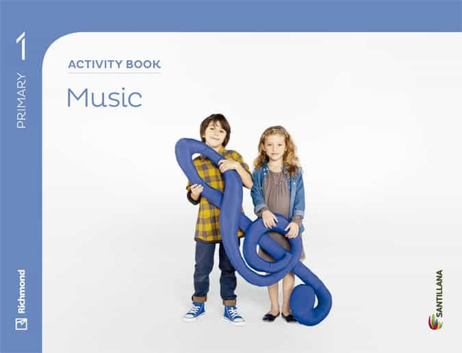 music 1º primaria activity book-9788468087986