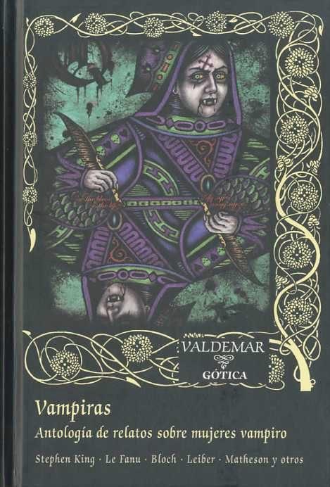 vampiras: antologia de relatos sobre mujeres vampiro-9788477026686