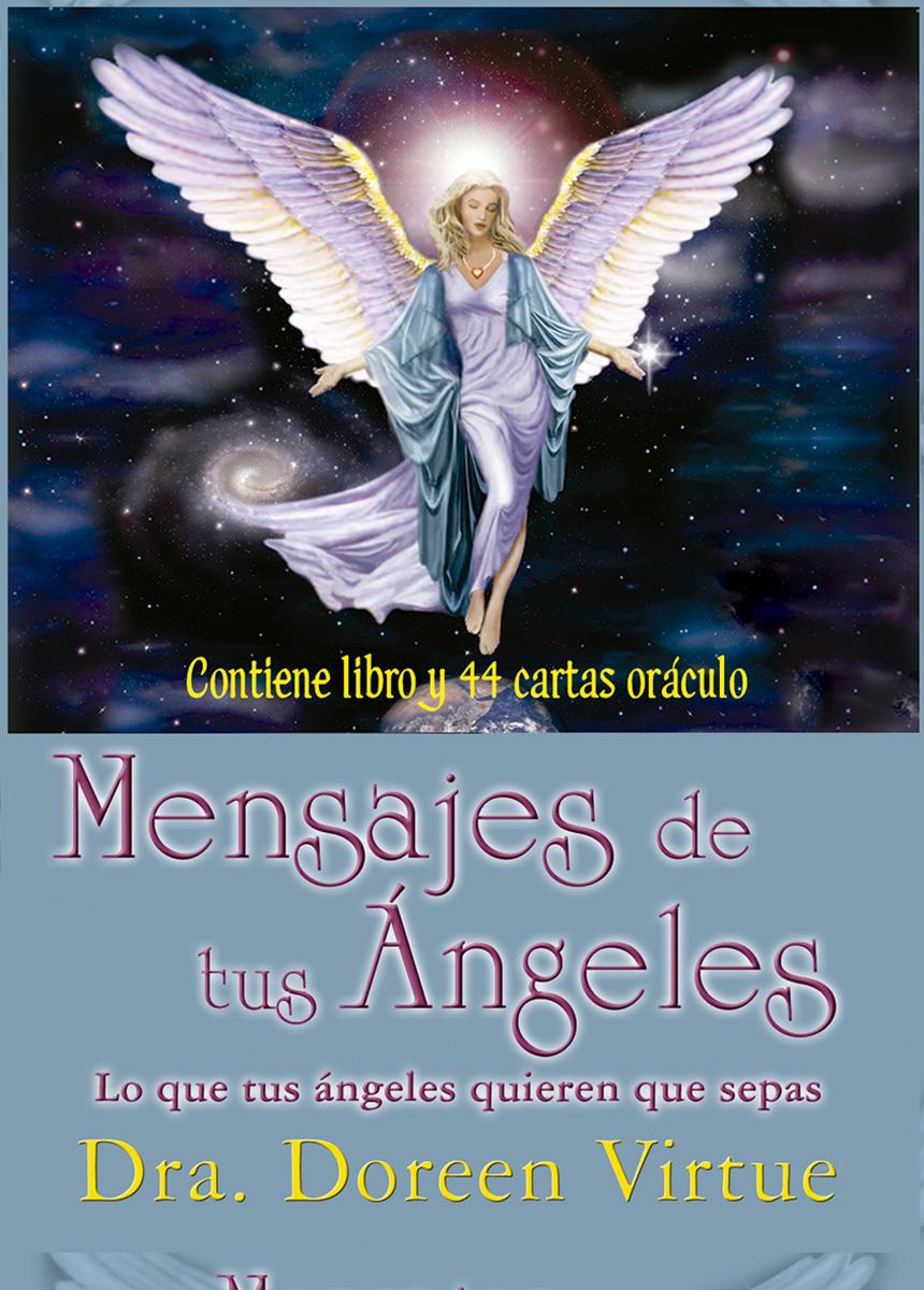 mensajes de tus ángeles - cartas oráculo-doreen virtue-9788415292296