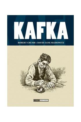 Kafka,Robert Crumb, D. Zane Mairowitz,Ediciones La Cúpula  tienda de comics en México distrito federal, venta de comics en México df
