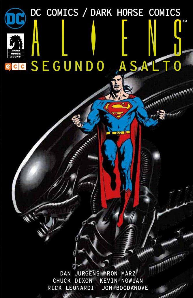 dc comics/dark horse comics: aliens - segundo asalto-chuck dixon-rick leonardi-9788417722296