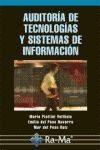 Auditoria De Tecnologias Y Sistemas De Informacion por Mario Piattini Velthuis epub