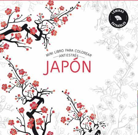 japon: mini libros antiestres para colorear-9788490565896