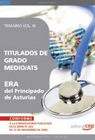 Titulados De Grado Medio/ats Era Del Principado De Asturias. Tema Rio Vol. Iii por Vv.aa. epub
