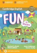 fun for starters student s book with audio with online activities (3rd ed.) 9781107444706