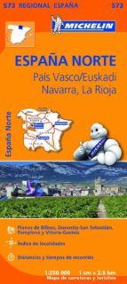 mapa regional españa norte pais vasco, euskadi, navarra, la rioja-9782067184206
