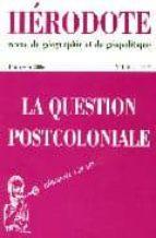 Libros electrónicos más vendidos para descarga gratuita H120.la question post-colonial