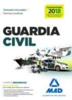 guardia civil temario para la preparación de oposición. ciencias jurídicas volumen 1 9788414210406