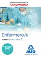 enfermero/a del servicio navarro de salud osasunbidea: temario (vol. 3) 9788414213506