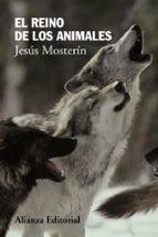 el reino de los animales jesus mosterin 9788420674506