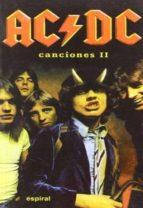 canciones ac/dc (vol. 2) 9788424509606