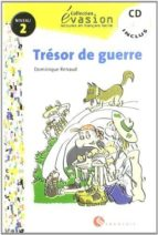 tresor de guerre (incluye cd) (evasion lecturas en frances) (2º e so)-dominique renaud-9788429409406