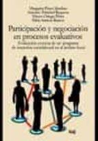 participación y negociación en procesos evaluativos-margarita perez sanchez-9788433858306