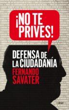 ¡no te prives! (ebook) fernando savater 9788434418806