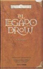 el legado de drow (reinos olvidados; edicion para coleccionistas)-r.a. salvatore-9788448032906