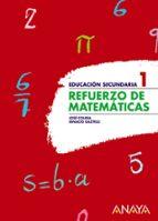 refuerzo de matematicas 1º eso-jose colera-ignacio gaztelu-9788466751506