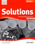 solutions p int wb & cd pk 2ed 9788467382006