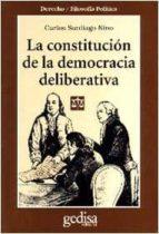 la constitucion de la democracia deliberativa-carlos santiago nino-9788474326406
