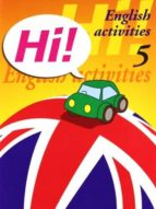 hi! english activities nº 5 educacion primaria-9788478873906