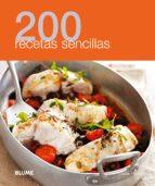 200 recetas sencillas-9788480769006
