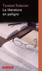 la literatura en peligro (ebook)-tzvetan todorov-9788481098006