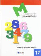cuaderno de matematicas 17 car 9788489655706