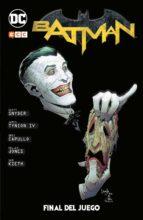 batman: final del juego scott snyder james tynion iv 9788494776106