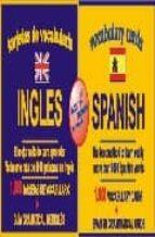 tarjetas de vocabulario ingles/español 9788495734006