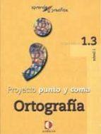 proyecto punto y coma: cuaderno 1.3 ortografia (aprende y pract ica) 9788496547506