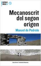 mecanoscrit del segon origen manuel de pedrolo 9788497662406