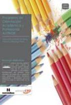 programa de orientacion academica y profesional autinde 9788499372006