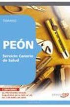 PEON SERVICIO CANARIO DE SALUD. TEMARIO