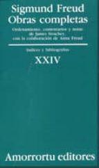 obras completas: indices y bibliografias sigmund freud 9789505186006