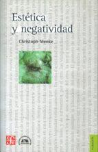El libro de Estetica y negatividad autor CHISTOPH MENKE EPUB!
