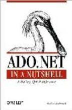 ado.net in a nutshell (incluye cd rom) matthew macdonald 9780596003616