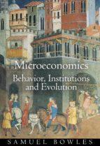 microeconomics (ebook) samuel bowles 9781400829316