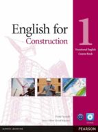 english for construction level 1 coursebook and cd rom pack 9781408269916