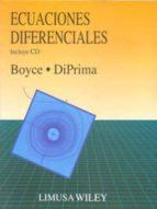 ecuaciones diferenciales (incluye cd rom) william e. boyce richard c. diprima 9786070501616