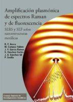 amplificación plasmónica de espectros raman y de fluorescencia: sers y sef sobre nanoestructuras metálicas (ebook)-9788400098216