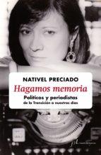 hagamos memoria (ebook)-nativel preciado-9788415673316